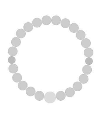 パワーストーンオーダーメイド 主玉8mm・親玉10mm・二天玉6mm 数珠 男女共に大人気