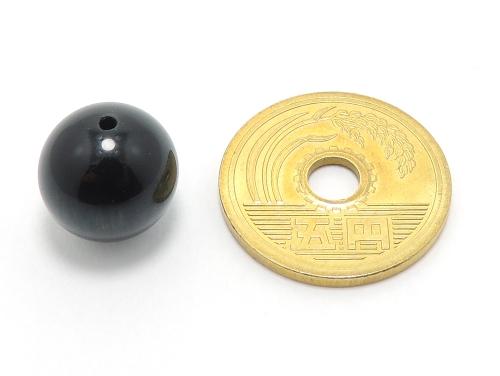 パワーストーン天然石ビーズ粒売り ブルータイガーアイAAAA(10月誕生日石)12ミリ 金運 ハンドメイド・手作りアクセサリー用 (10020)