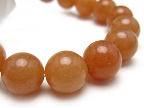 パワーストーンブレスレット オレンジアベンチュリンAAA(5月誕生石)10ミリ 仕事運 ワンカラーブレス [サイズ選べる][日本製][送料無料] (10191)