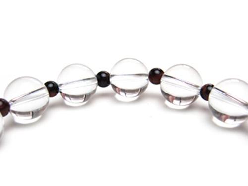 パワーストーンブレスレット レッドタイガーアイAAAA(10月誕生石)4ミリ クリスタル(水晶)AAAAA最高品質(4月誕生石)10ミリ 金運・開運 [サイズ選べる][日本製][送料無料] (10392)