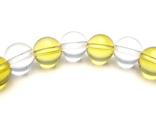 パワーストーンブレスレット シトリンクォーツAAA(11月誕生石)8ミリ クリスタル(水晶)AAAAA最高品質(4月誕生石)8ミリ 金運・開運 [サイズ選べる][日本製][送料無料] (10621)