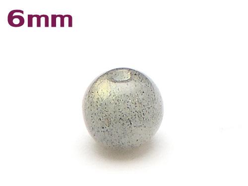 パワーストーン天然石ビーズ粒売り ラブラドライトAAA6ミリ 仕事運 ハンドメイド・手作りアクセサリー用 (11096)