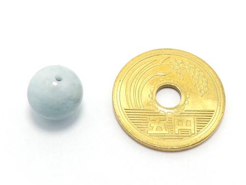 パワーストーン天然石ビーズ粒売り アクアマリンAAAA(3月誕生石)10ミリ 復縁・恋愛運 ハンドメイド・手作りアクセサリー用 (11574)