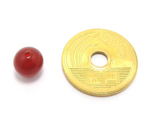パワーストーン天然石ビーズ粒売り レッドアゲートAAAA8ミリ 魔除・厄除 ハンドメイド・手作りアクセサリー用 (11577)