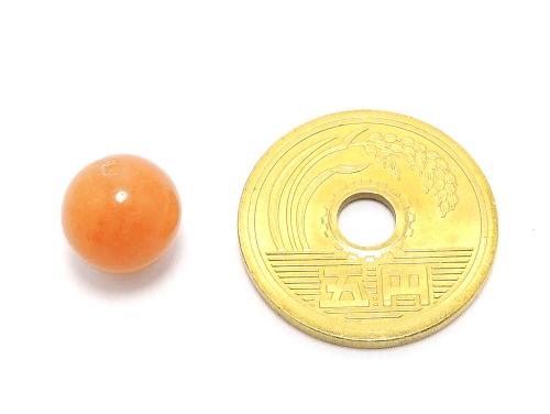 パワーストーン天然石ビーズ粒売り オレンジアベンチュリンAAA(5月誕生日石)10ミリ 仕事運 ハンドメイド・手作りアクセサリー用 (11589)