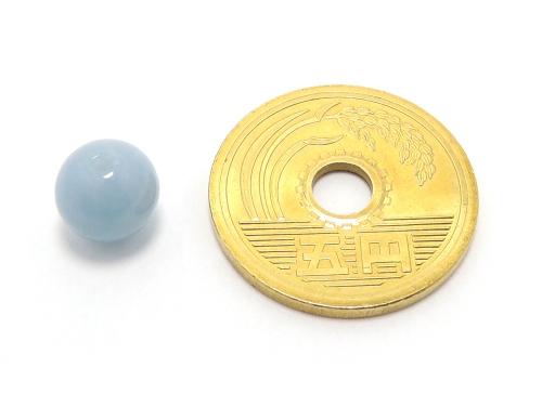 パワーストーン天然石ビーズ粒売り エンジェライトAAAA8ミリ 対人関係 ハンドメイド・手作りアクセサリー用 (11594)