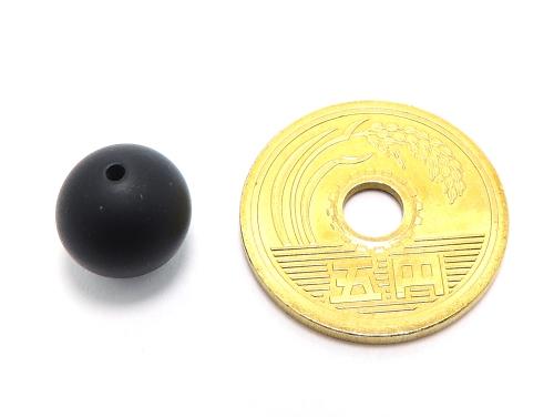 パワーストーン天然石ビーズ粒売り オニキス(つや消し)AAAA(8月誕生日石)10ミリ 仕事運 ハンドメイド・手作りアクセサリー用 (11598)