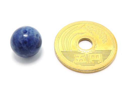 パワーストーン天然石ビーズ粒売り ソーダライトAAA10ミリ 魔除・厄除 ハンドメイド・手作りアクセサリー用 (11609)