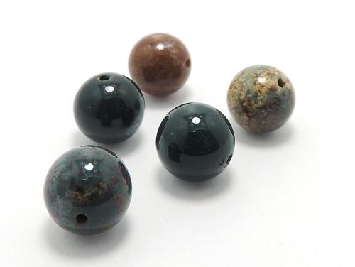 パワーストーン天然石ビーズ粒売り ブラッドストーンAAAA(3月誕生日石)10ミリ 魔除・厄除 ハンドメイド・手作りアクセサリー用 (11622)