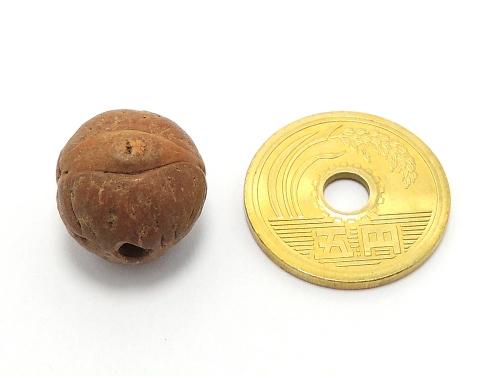 鳳眼菩提樹 ビーズ粒売り 14ミリ丸玉 ハンドメイド・手作りアクセサリー用 (11624)
