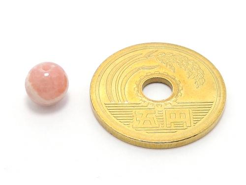 パワーストーン天然石ビーズ粒売り インカローズAAAA(7月誕生日石)6ミリ 恋愛運 ハンドメイド・手作りアクセサリー用 (11626)