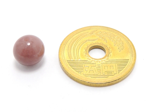 パワーストーン天然石ビーズ粒売り レッドクォーツ(赤水晶)AAAA8ミリ 健康・癒し ハンドメイド・手作りアクセサリー用 (11633)