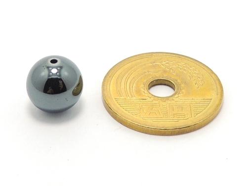 パワーストーン天然石ビーズ粒売り ヘマタイトAAAA10ミリ 健康・癒し ハンドメイド・手作りアクセサリー用 (11650)