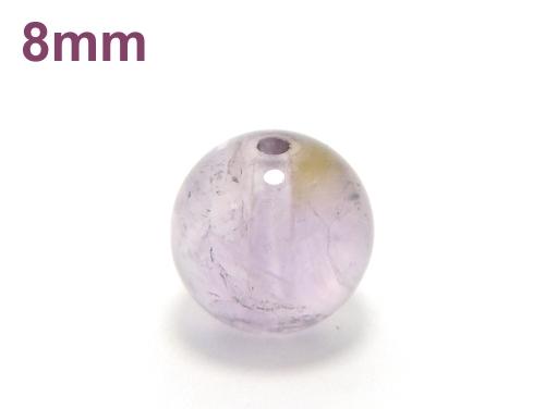パワーストーン天然石ビーズ粒売り アメトリン8ミリ 金運 ハンドメイド・手作りアクセサリー用 (11659)