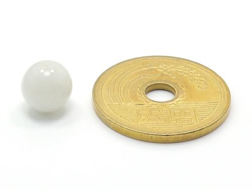 パワーストーン天然石ビーズ粒売り ムーンストーンAAAA(6月誕生日石)8ミリ 恋愛運 ハンドメイド・手作りアクセサリー用 (11708)