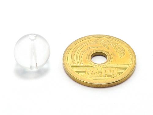 パワーストーン天然石ビーズ粒売り クリスタル(水晶)AAAAA最高品質(4月誕生石)10ミリ 開運 ハンドメイド・手作りアクセサリー用 (11719)