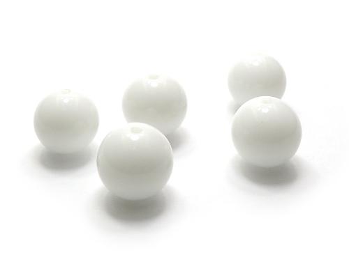 パワーストーン天然石ビーズ粒売り ホワイトオニキスAAAA12ミリ 魔除・厄除 ハンドメイド・手作りアクセサリー用 (11906)