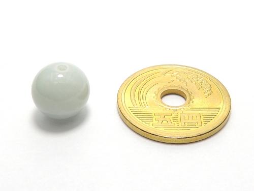 パワーストーン天然石ビーズ粒売り ジェイド(本翡翠)(日本の国石)AAAA(5月誕生日石)10ミリ 健康・癒し ハンドメイド・手作りアクセサリー用 (11908)