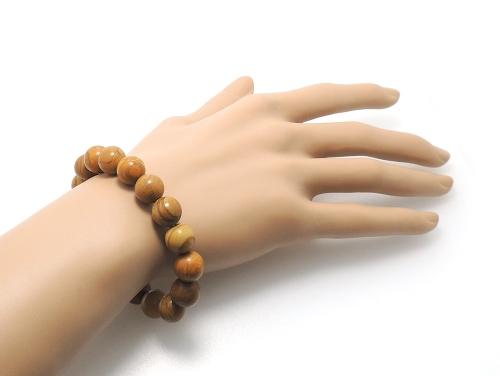 パワーストーンブレスレット グレイニネス(木紋石)AAA8ミリ 健康・癒し ワンカラーブレス [サイズ選べる][日本製][送料無料] (11915)