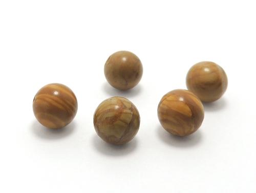 パワーストーン天然石ビーズ粒売り グレイニネス(木紋石)AAA10ミリ 健康・癒し ハンドメイド・手作りアクセサリー用 (11927)