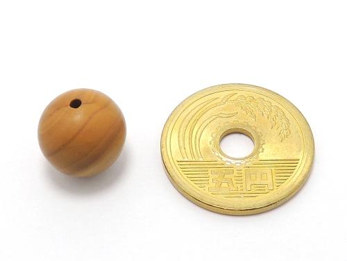 パワーストーン天然石ビーズ粒売り グレイニネス(木紋石)AAA12ミリ 健康・癒し ハンドメイド・手作りアクセサリー用 (11928)