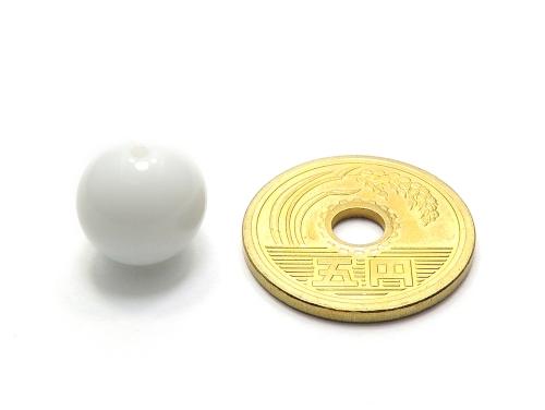 パワーストーン天然石ビーズ粒売り シャコガイAAAA12ミリ 魔除・厄除 ハンドメイド・手作りアクセサリー用 (11981)