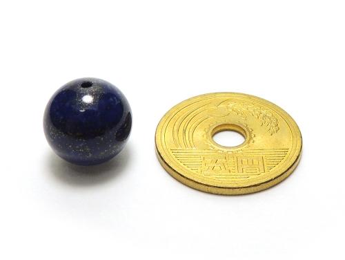 パワーストーン天然石ビーズ粒売り ラピスラズリAAAA(9月誕生日石)12ミリ 開運 ハンドメイド・手作りアクセサリー用[送料無料] (12025)