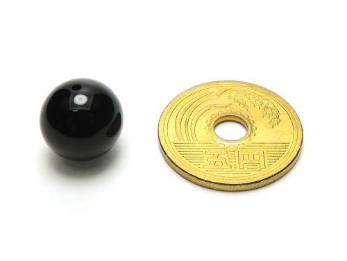 パワーストーン天然石ビーズ粒売り オニキスAAAAA最高品質(8月誕生日石)12ミリ 魔除・厄除 ハンドメイド・手作りアクセサリー用 (12053)