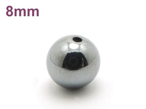 パワーストーン天然石ビーズ粒売り テラヘルツAAAA8ミリ 健康・癒し ハンドメイド・手作りアクセサリー用 (12102)