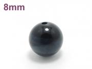 パワーストーン天然石ビーズ粒売り ブルータイガーアイAAAA8ミリ 金運 ハンドメイド・手作りアクセサリー用 (10019)