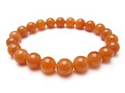 パワーストーンブレスレット オレンジアベンチュリンAAA(5月誕生日石)8ミリ 仕事運 ワンカラーブレス [サイズ選べる][日本製][送料無料] (10365)