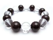 パワーストーンブレスレット ガーネットAAA(1月誕生日石)12ミリ クリスタル(水晶)AAAAA最高品質(4月誕生日石)12ミリ 金運・開運 [サイズ選択可][日本製][送料無料] (10553)