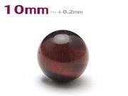 パワーストーン天然石ビーズ粒売り レッドタイガーアイAAAA(10月誕生日石)10ミリ 金運 ハンドメイド・手作りアクセサリー用 (11071)