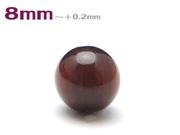 パワーストーン天然石ビーズ粒売り レッドタイガーアイAAAA(10月誕生日石)8ミリ 金運 ハンドメイド・手作りアクセサリー用 (11075)