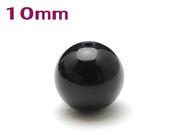 パワーストーン天然石ビーズ粒売り オニキスAAAAA最高品質(8月誕生日石)10ミリ 魔除・厄除 ハンドメイド・手作りアクセサリー用 (11084)
