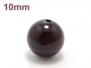 パワーストーン天然石ビーズ粒売り ガーネットAAA(1月誕生日石)10ミリ 金運 ハンドメイド・手作りアクセサリー用 (11585)
