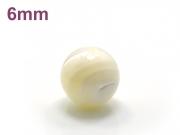 パワーストーン天然石ビーズ粒売り マザーオブパールAAA(6月誕生日石)6ミリ 魔除・厄除 ハンドメイド・手作りアクセサリー用 (11709)