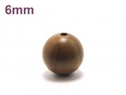 パワーストーン天然石ビーズ粒売り グレイニネス(木紋石)AAA6ミリ 健康・癒し ハンドメイド・手作りアクセサリー用 (11925)