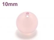 パワーストーン天然石ビーズ粒売り ピンクカルセドニーAAAA10ミリ 対人関係 ハンドメイド・手作りアクセサリー用 (11932)
